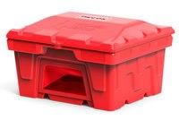 Пластиковые ящики и контейнеры для песка, ветоши и реагентов