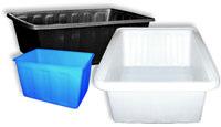 Ванны пластиковые объемом 90, 200, 400, 600 и 1000 литров
