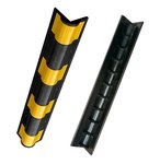 Буфер угловой резиновый скругленный (демпфер угловой). 900х100х20мм