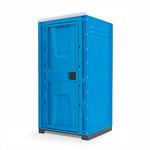 Туалетная кабина TOYPEK Toypek Промо синяя собранная