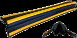 Демпфер угловой резиновый прямой ДУ-15. 1000х80х15мм