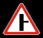 Знак 2.3.2 Примыкание второстепенной дороги