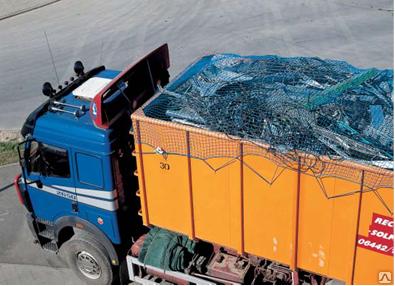 Сети для укрытия грузовых контейнеров 3х7