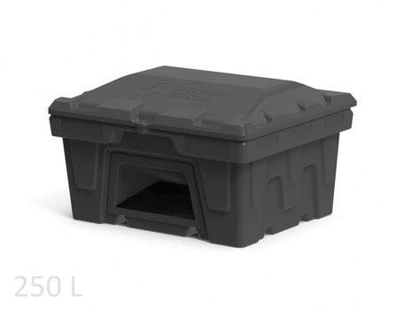 Пластиковый ящик с дозатором для соли, реагентов 250 л