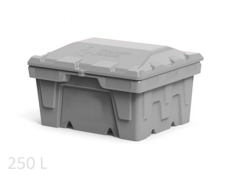 Пластиковый ящик для соли, реагентов 250 литров