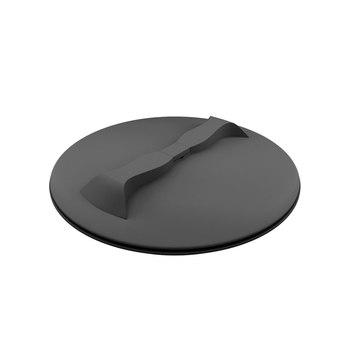 Черная крышка с дыхательным клапаном 350 мм