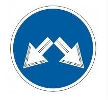 Импульсный светодиодный дорожный знак круглый (СИД 4.2.3)