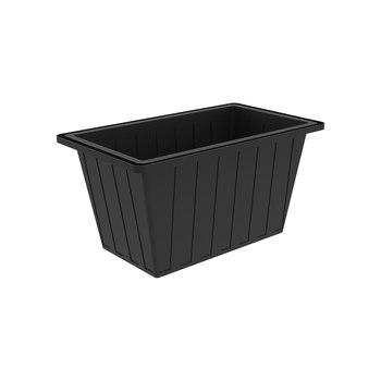 Ванна пластиковая K-400 на 400 л (черная)