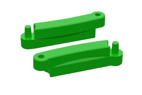 Зеленый элемент песочницы