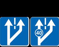 Все квадратные дорожные знаки 2.1, 2.2, 2.7, 5.5, 5.6, 5.8-5.14, 5.15.2-5.15.6, 5.19.1-5.20, 6.2-6.8.3, 8.13