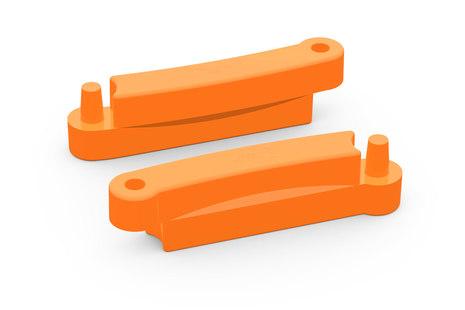 Оранжевый элемент песочницы