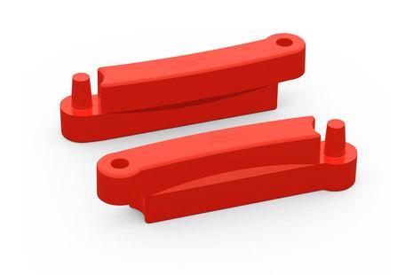 Красный элемент песочницы