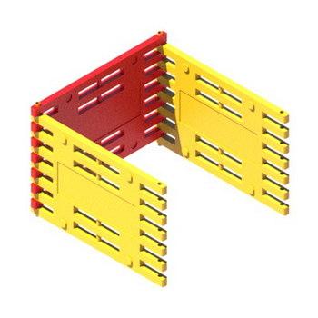 Ограждение Арго 1500х1000 для ограждений ремонтных зон (3шт) на поворотных соединителях