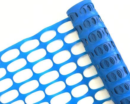 А-160. 1,8 м х 50 п.м. Барьерное ограждение, цвет синий