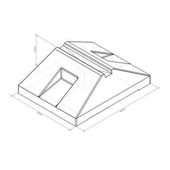 Пластиковая водоналивная подставка 445 для Солдатик тип 1 с бетонным заполнением