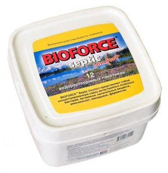 BIOFORCE Septic Comfort. Биологический очиститель септиков 672 г.
