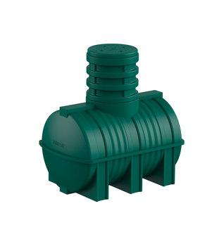 Зеленая емкость D-1000