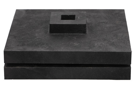Подставка для вехи полимерная 330х330