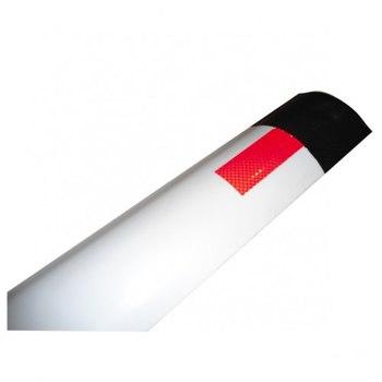 Пластиковый гибкий дорожный сигнальный столбик С3 ГОСТ 50970, 32843-2014 (сечение дуга)