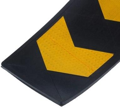 Демпфер стеновой резиновый ДСР-1,5. 800х150х25мм