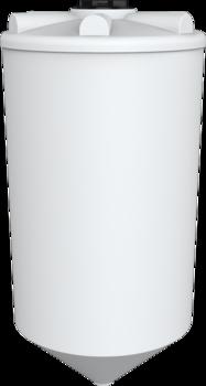 Емкость ФМ-2000 с конусным дном (емкость полного слива)