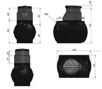 Схема накопительной емкости U.1250