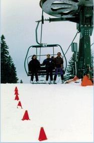 """Ограждение """"виборд"""" (v-board) для маркировки лыжных трасс 800 мм"""