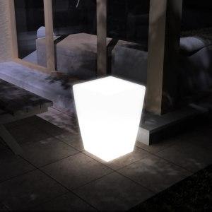 Кашпо «FLOX» малое с подсветкой