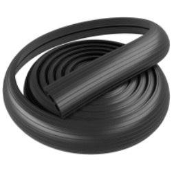 Гибкий кабель-канал в рулоне 1_ канал 19х9,5 мм. 9000х76х16мм