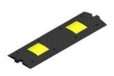 ИДН-300-1 черный средний элемент 300х1000х37мм (искусственная дорожная неровность)