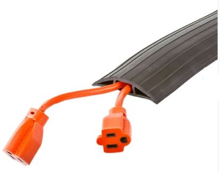 Гибкий кабель-канал в рулоне 1_канал 38 х 16 мм. 9000х76х25мм