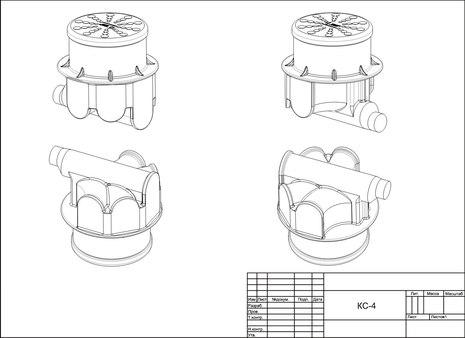 НОВИНКА!!! Пластиковый колодец связи КС-4