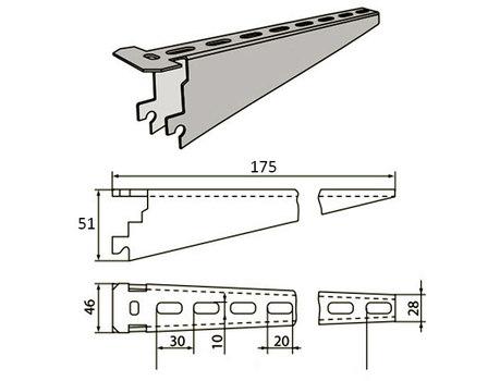 Полка (консоль) для КС-5