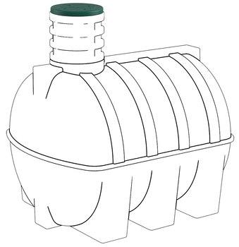 Люк для подземных емкостей D-5000
