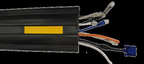 Гибкий кабель-канал ДСР-3 - Гибкий кабельный мост - 4 канала