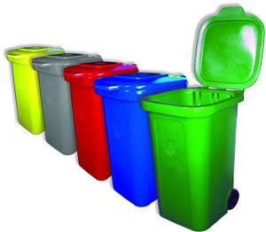 Контейнер для сбора мусора (накопительные баки для бытовых отходов)