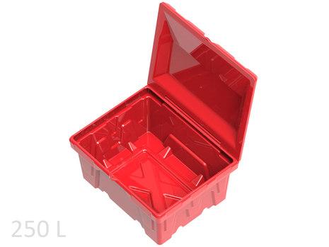 Пластиковый ящик для песка 250литров