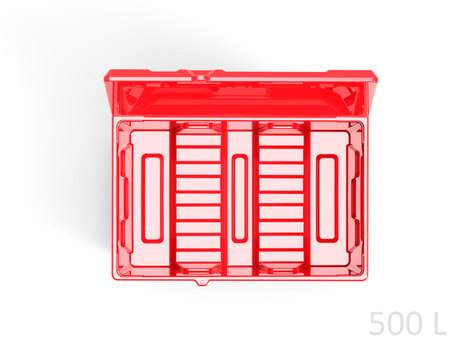 Пластиковый ящик для соли, реагентов 500литров