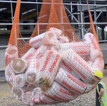 Сетка 3,3х3,3м для подъема грузов на 3 тонны