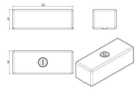 Схема емкости для жидкости ЭВП-100