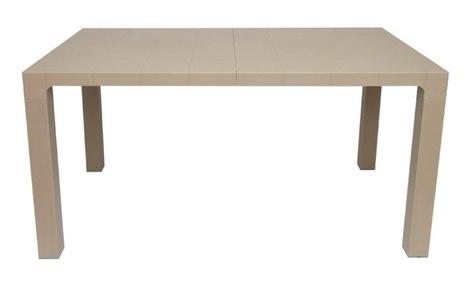 Пластиковый стол Орфей 140х80 см (мокко)