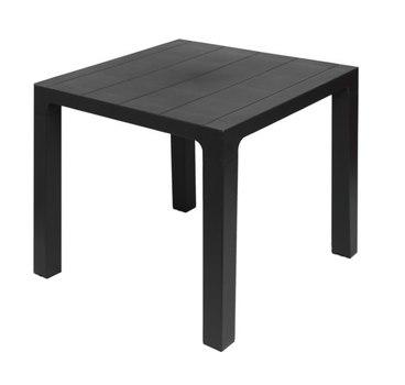 Стол пластиковый Орфей 72 см (графит)