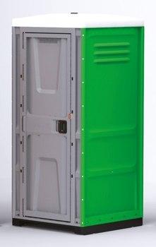 Туалетная кабина TOYPEK зеленая в собранном виде