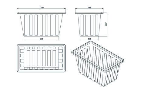 Схема пластиковой ванной К-400