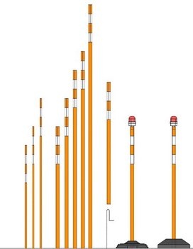Веха оградительная / ВО-1/ Комплект: 795 руб.