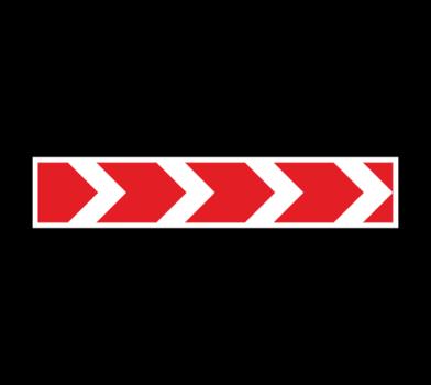 Большой знак 1.34.1 Hаправление поворота