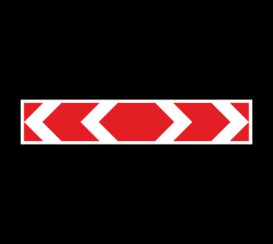 Знак 1.34.3 Hаправление поворота (большой)