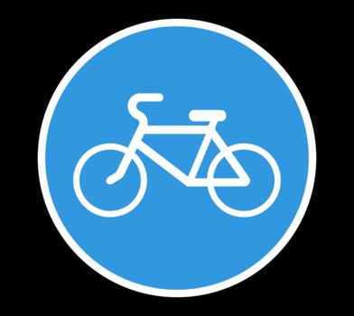 Знак 4.4.1 Велосипедная дорожка или полоса